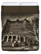 Haunted Baker Hotel Duvet Cover