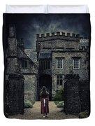 Haunted House Duvet Cover by Joana Kruse