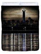 Haunted Lighthouse Duvet Cover