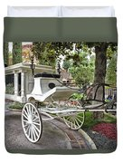 Haunted Mansion Hearse New Orleans Disneyland Duvet Cover