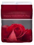 Hau'oli Ka La Aloha Kakou - Happy Valentine's Day Duvet Cover