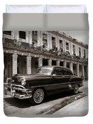 Havana Chevy Duvet Cover