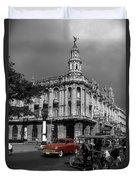 Havana Red Duvet Cover