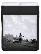 Havana Woman Duvet Cover