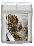 Havanese Dog Duvet Cover