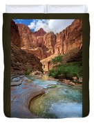Havasu Creek Duvet Cover