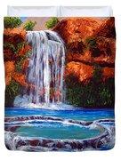 Havasu Falls Cheryln1955@gmail.com Duvet Cover