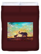 Have Courage Duvet Cover