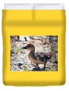 Lost Baby Duckling Duvet Cover