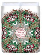 Have Yourself A Faery Little Christmas Duvet Cover