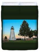 Concord Point Light ... Havre De Grace Md Duvet Cover