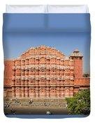 Hawa Mahal Palace Of Winds Duvet Cover