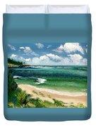 Hawaii Beach Duvet Cover