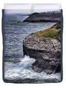 Hawaii Big Island Coastline Duvet Cover