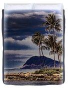 Hawaii Big Island Coastline V3 Duvet Cover