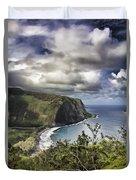 Hawaii Coastline Kauai  Duvet Cover