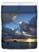 Hawaii Sunrise Duvet Cover