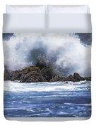 Hawaii Waves V3 Duvet Cover