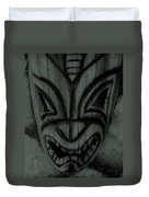 Hawaiian Charcoal Mask Duvet Cover