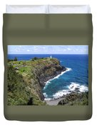 Hawaiian Lighthouse Duvet Cover