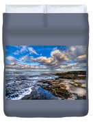 Hawaiian Morning Duvet Cover