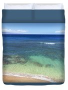 Hawaiian Ocean Duvet Cover