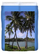 Hawaiian Paradise Duvet Cover
