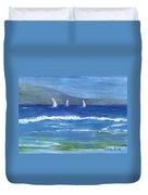 Hawaiian Sail Duvet Cover