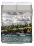 Hawaiian Shores Duvet Cover