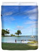 Hawaiian Landscape 6 Duvet Cover