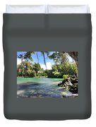 Hawaiian Landscape Duvet Cover
