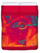 Hawk Cut Valentine 2012 Duvet Cover