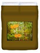 Hawkweed Wildflower Duvet Cover