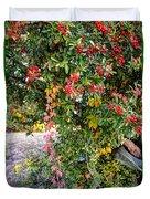Hawthorn Berry Duvet Cover