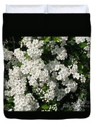 Hawthorn In Bloom Duvet Cover