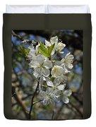Hawthorn Flowers Duvet Cover