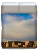 Hay Bales Duvet Cover by James BO  Insogna