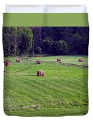 Hay Field Duvet Cover