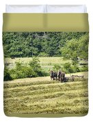 Hay Season Duvet Cover