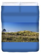 Haystack And Sea Grass Duvet Cover