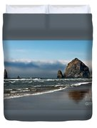 Haystack Duvet Cover by Robert Bales