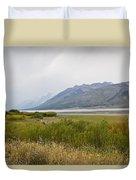 Hazy Day - Grand Teton National Park - Wyoming Duvet Cover