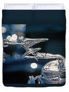 Hdr Hood Ornament Duvet Cover