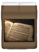He Set Me Free - Hymnal Song Duvet Cover