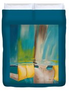Head Above Water Duvet Cover