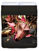 Head Of A Dragon At Leeds Carnival Duvet Cover