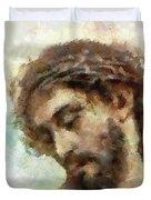 The Head Of Christ Duvet Cover