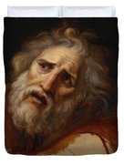 Head Of Laocoon Duvet Cover