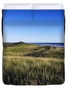 Head Of The Meadow Beach Duvet Cover