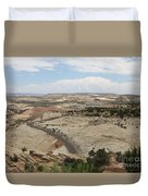 Head Of The Rocks - Scenic Byway 12 Duvet Cover